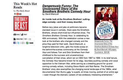"""Dangerously Funny"" Week: What a Whirlwind, Part 1"