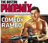 Boston Phoenix cover with Stephen Colbert