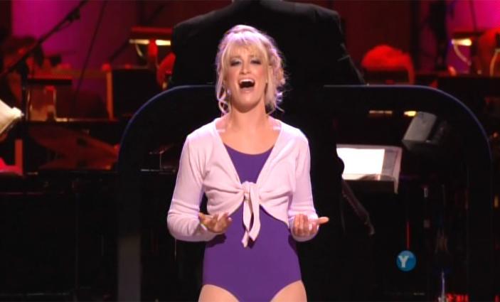 Beth Behrs singing